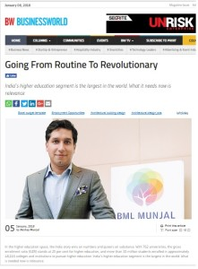 BW- Going from routine to revolutionary- AKM